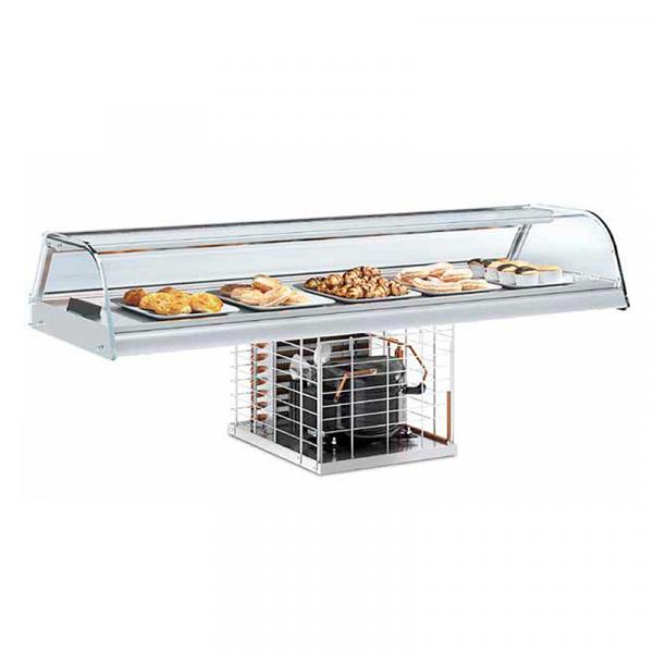 Expositor de barra y platos Serie VEB-CC marca INFRICO