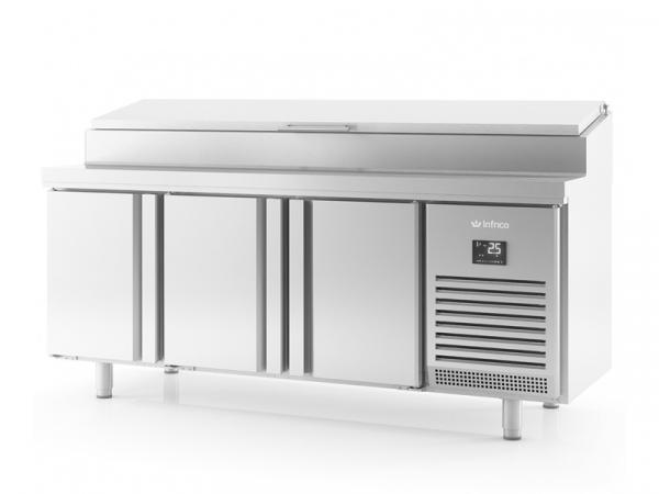Mesa de refrigeración para ensaladas GN1/1 Serie 700 marca INFRICO modelo BMGN 1960 EN