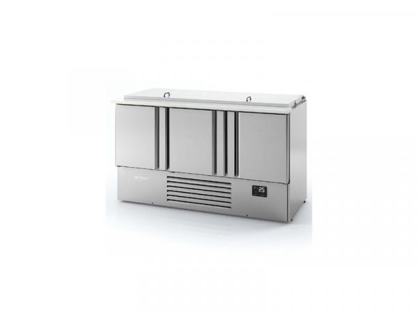 Mesa de refrigeración para ensaladas Serie BAN marca INFRICO