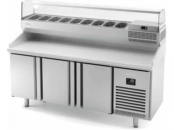 Mesa refrigerada para pizza GN1/1 Serie 700 marca INFRICO modelo MPG 1980