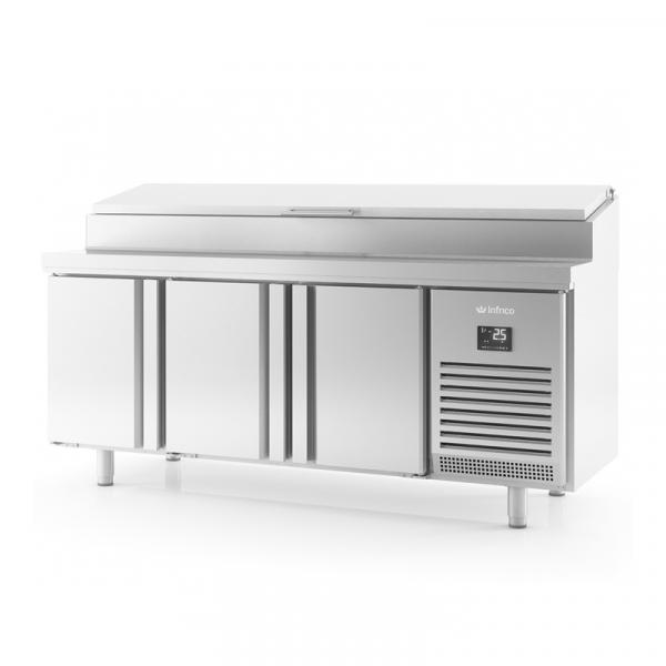 Mesa refrigerada para ensaladas y pizza marca INFRICO modelo MR 2190 EN
