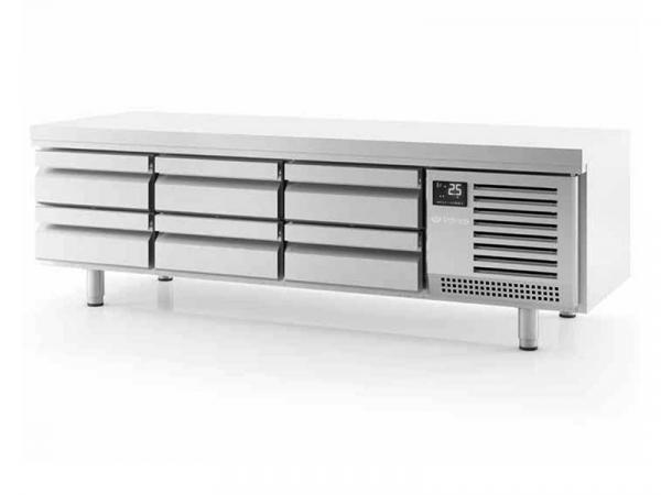 Mesa baja refrigeración GN1/1 Serie 700 marca INFRICO