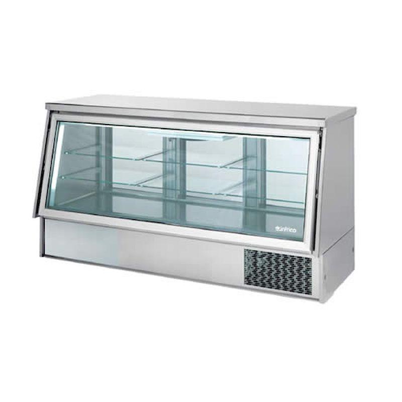 vitrina expositora cerrada refrigerada serie vc infrico