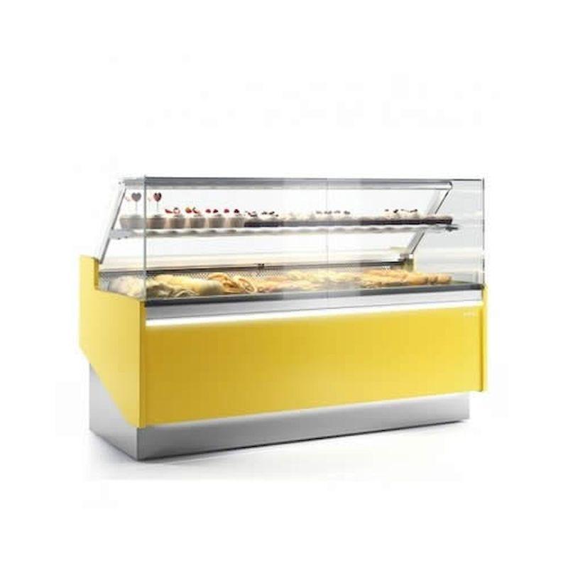 vitrina expositora para pastelería serie lyon bombones infrico