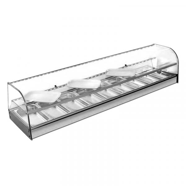 Vitrina refrigerada con estante Serie MAR F ET Marca VITRINAS GÓMEZ