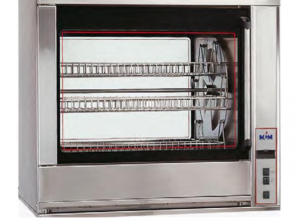 Asadores eléctricos de balancera marca MCM