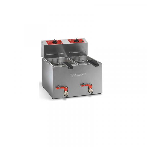 Freidoras eléctricas Capacidad 5+5 Litros Marca VALENTINE