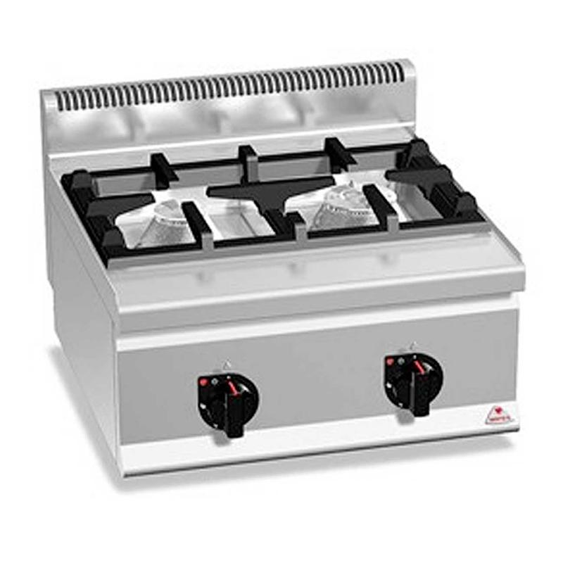 Cocinas a gas HIGH POWER Gama PLUS 600 Marca BERTO'S