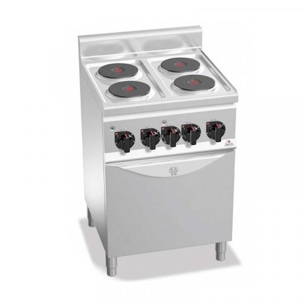 Cocina eléctrica CLASSIC Gama PLUS 600 Marca BERTO'S