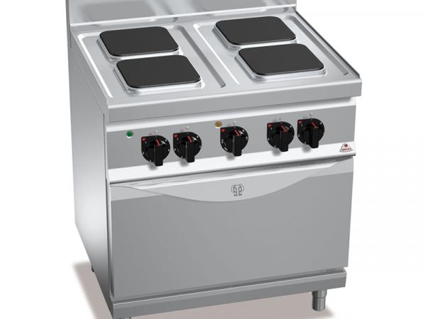 Cocinas eléctricas HIGH POWER Gama MACROS 700 Marca BERTO'S