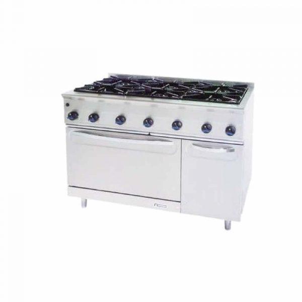 Cocinas modulares a gas Serie 750 Marca MUNDIGAS