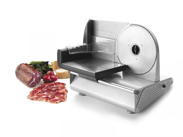 cortadora electrica de fiambre marca lacor gama para cocinas pequeñas o home