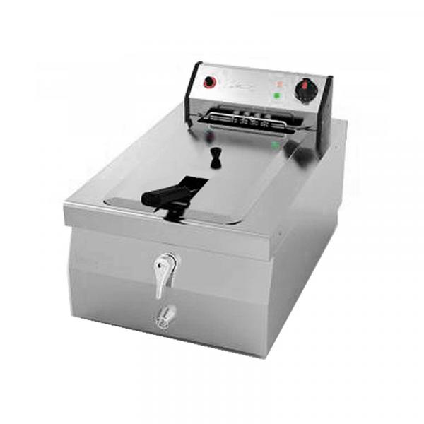 Freidora sobre mostrador con capacidad de 8 litros marca jemi