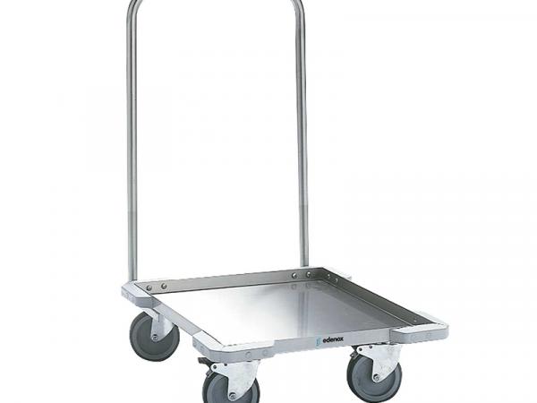 carro para el transporte y estocaje de cestas de vajilla con asa marca edenox