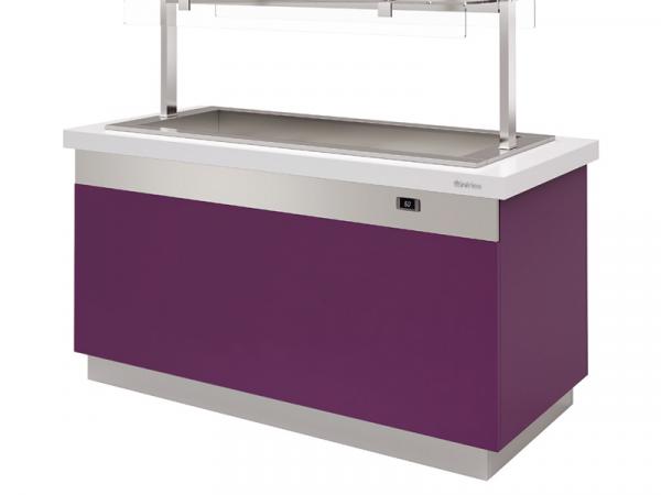 Gastrobuffet baño maría ventilado marca INFRICO