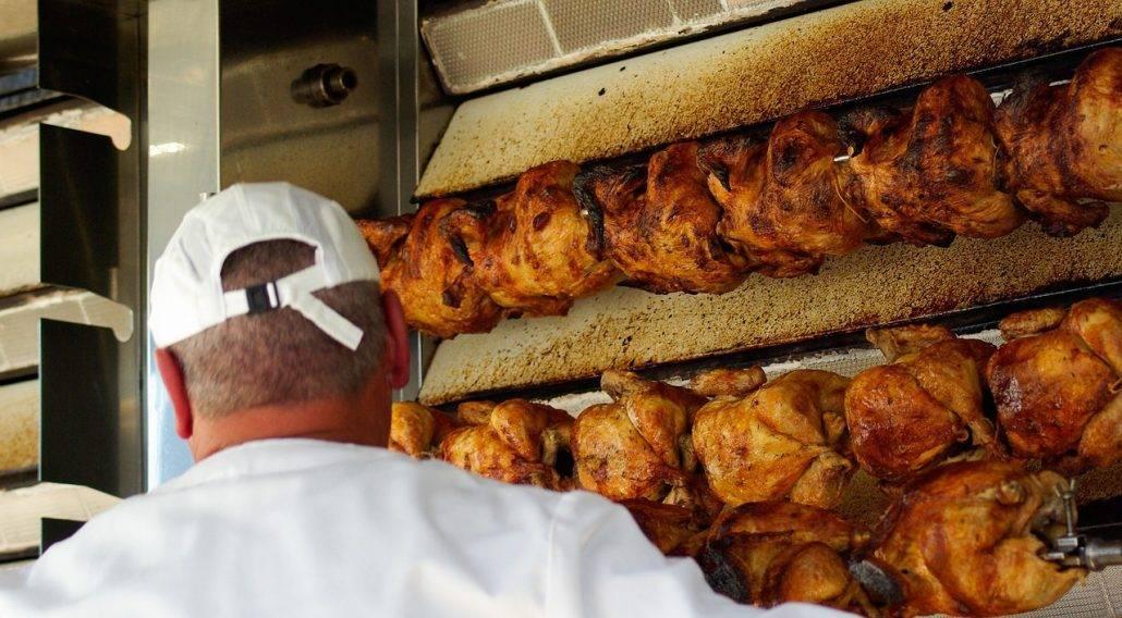asador de pollos profesional - asador de pollos - horno para pollos