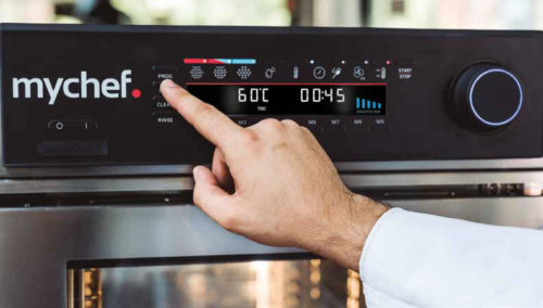 hornos profesionales mychef - distform - hornos profesionales