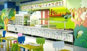 buffet infantil - maquinaria buffet