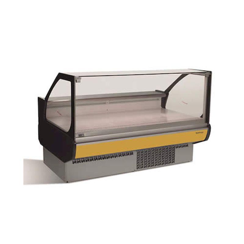 vitrina expositora modular frio ventilado sin reserva serie Europa infrico