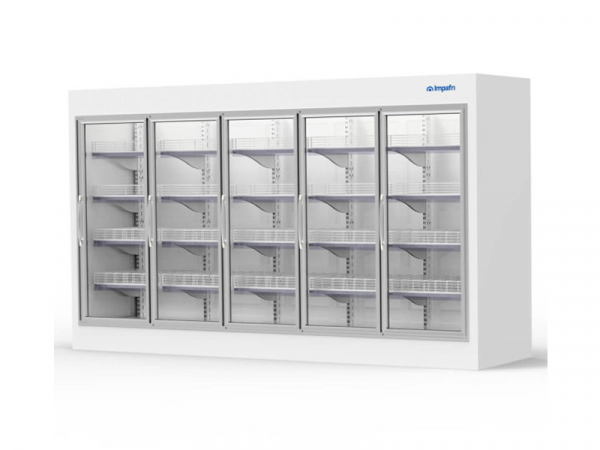 Armario y cámara modular puertas de cristal marca IMPAFRI