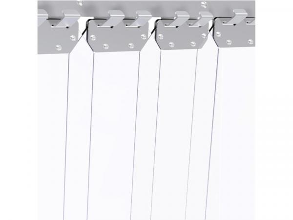 Cortina de lamas marca IMPAFRI para cámaras frigoríficas