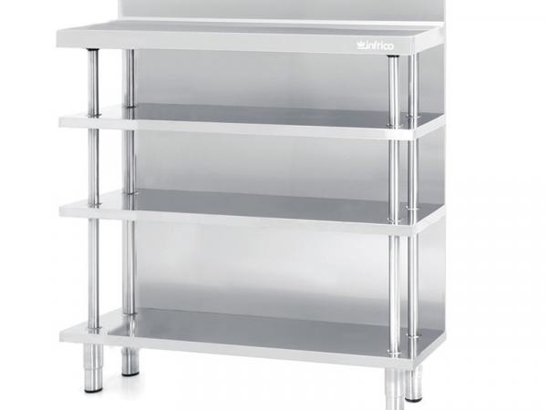 Mueble estantería y mesa de trabajo Serie ME marca INFRICO