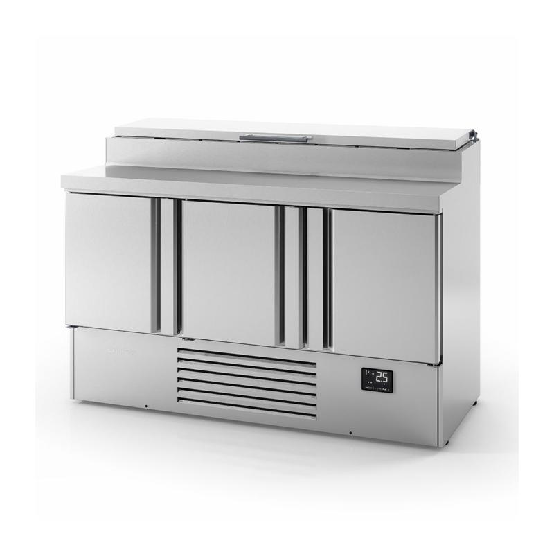 Mesa de refrigeración para ensaladas GN1/1 Serie 700 marca INFRICO