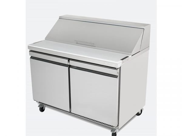 Mesa undercounter refrigeración para ensaladas megatop marca INFRICO