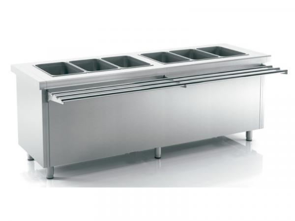Self Service de cuba fría con o sin reserva refrigerada marca INFRICO