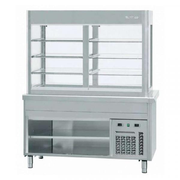 Vitrina Refrigerada placa fría Con o sin reserva refrigerada marca INFRICO