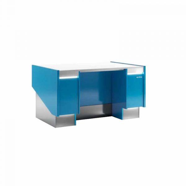 Mueble caja serie Lyon Infrico Azul