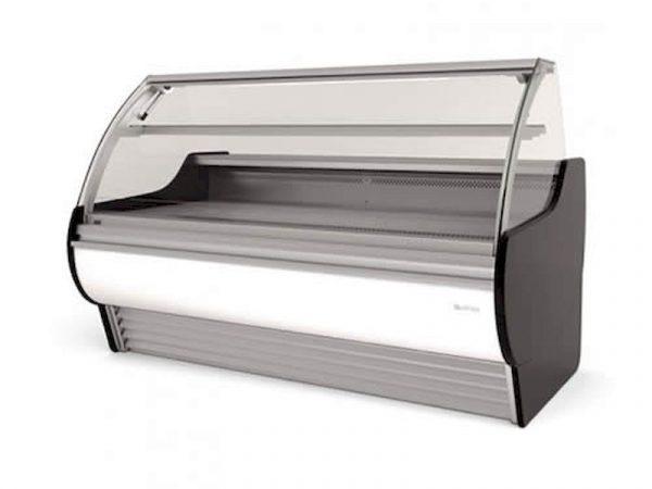 vitrina expositora modular frío ventilado sin reserva serie barcelona infrico