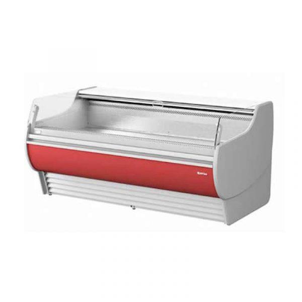 vitrina expositora modular frío ventilado autoservicio serie barcelona infrico