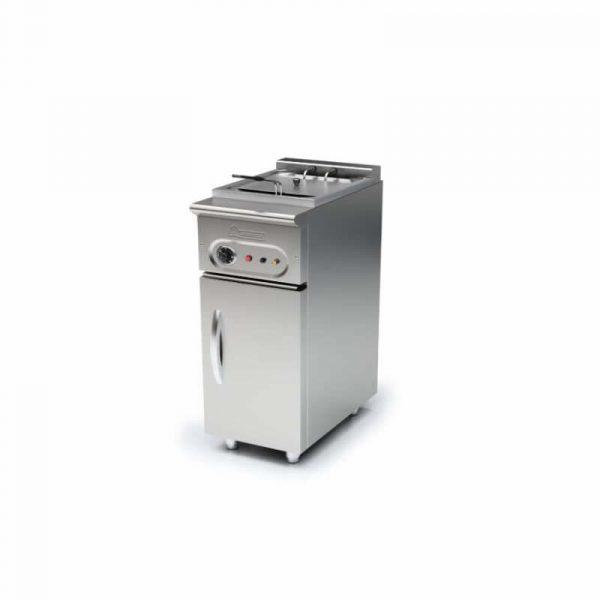 Freidora eléctrica Capacidad 10 Litros Fondo 550 Marca MUNDIGAS
