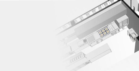 Proyectos 3d hostelería - diseños 3d hostelería - restaurantes - cafeterías
