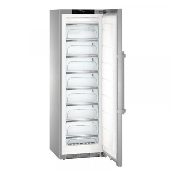 Congeladores ventilados verticales No Frost y Frost Marca Liebherr modelo con cajones