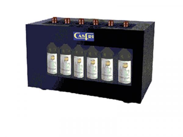 Dispensador Conservador de Vinos y Cavas Marca CASFRI capacidad 6 botellas