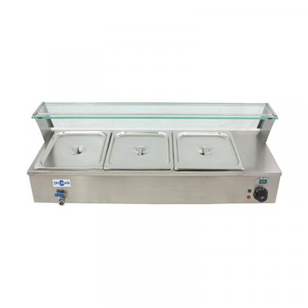 Vitrinas Calientes Marca IRIMAR modelo VI-3-GN1/2