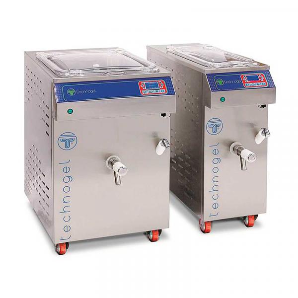 Maquina de Helado Pasteurizadora Mixpaxsto Marca TECHNOGEL