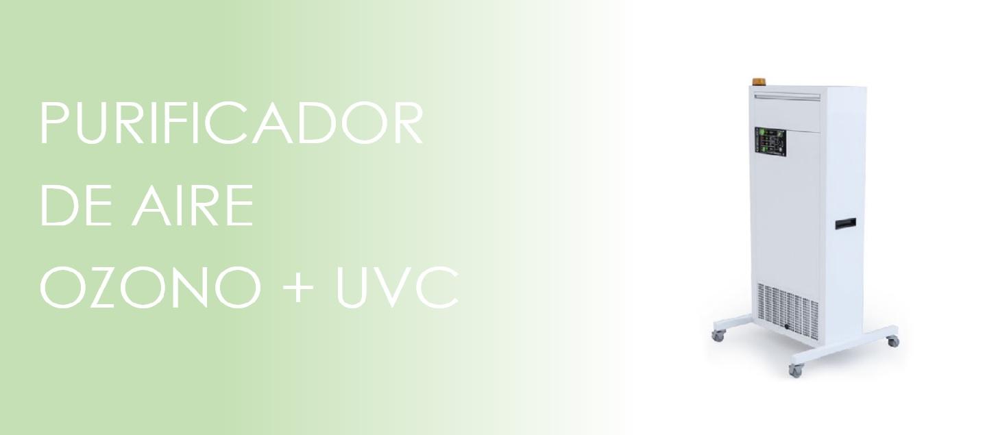purificador de aire ozono y uvc