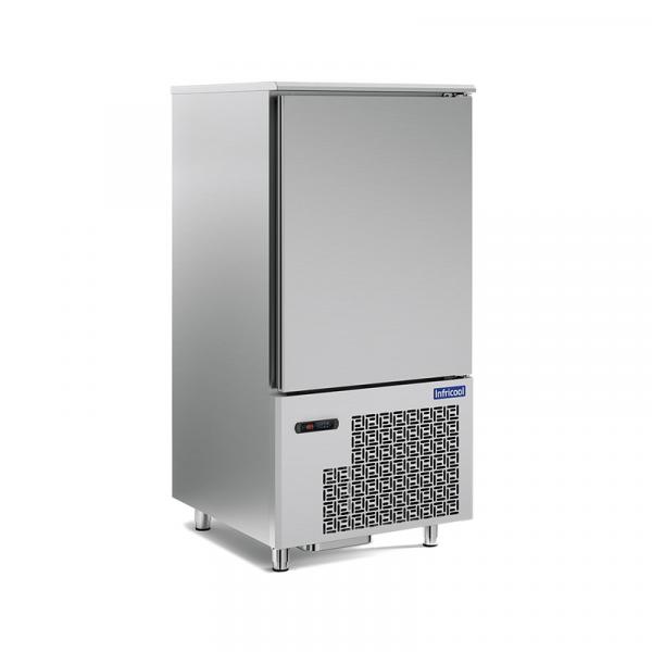 Abatidor de temperatura IABT10-1L marca INFRICOOL capacacidad 10 bandejas