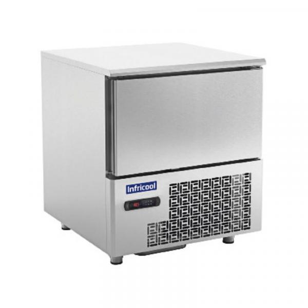 Abatidor de temperatura IABT5-1L Marca INFRICOOL capacidad 5 bandejas