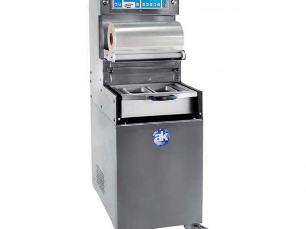 Termoselladora automática con vacío y gas TS-550 marca AK RAMÓN