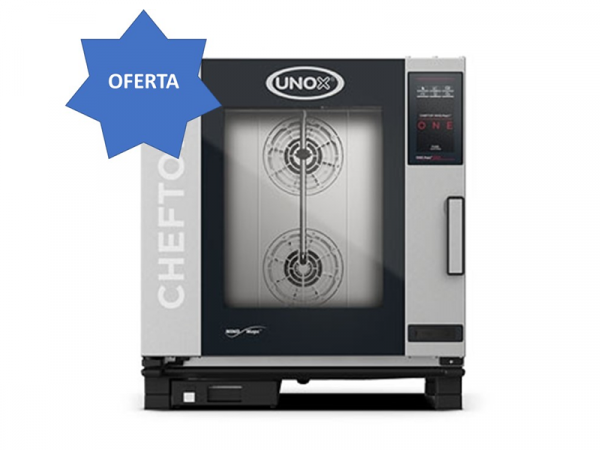 Hornos Cheftop One 7 bandejas GN1/1 Eléctrico marca UNOX