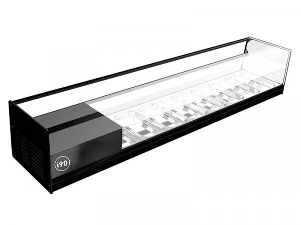 Vitrina refrigerada CUB 2 Pisos marca i90 modelo CUB 8 de 2 pisos