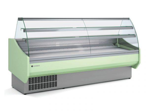 Vitrina expositora serie 9 Pastelería marca CORECO modelo CVEPD-9-20-C