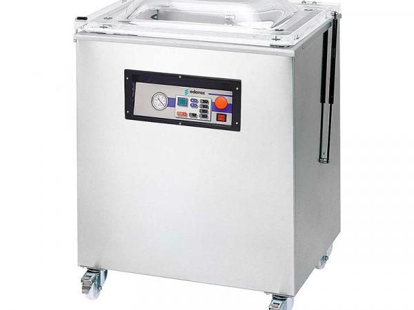 Envasadora al vacío de pie VAC DT marca EDENOX por tiempo modelo VAC-40 DT | Equipamiento de Hostelería