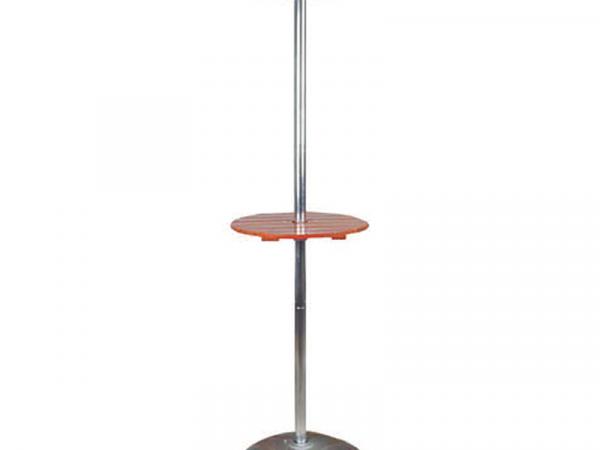 Estufa eléctrica para terraza con mesa marca CASFRI modelo HFE-40