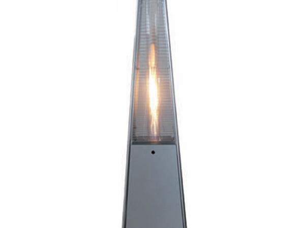 Estufa calefactoras pirámide a gas marca CASFRI