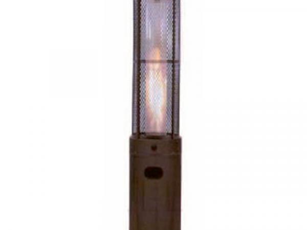 Estufa calefactoras redonda a gas marca CASFRI